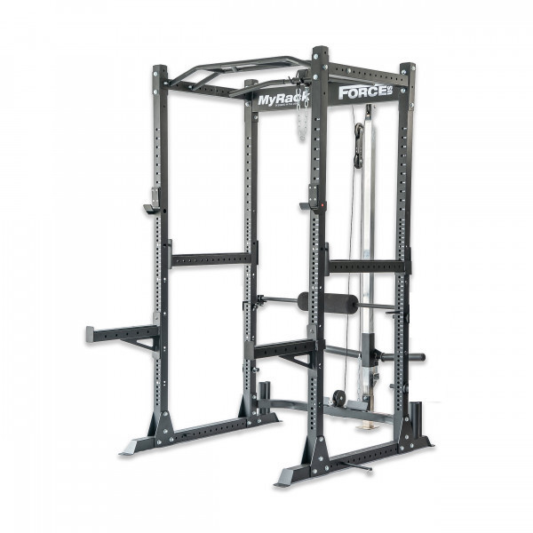 Force USA MyRack Garage Gym Power Rack with Lat/Low Pulley-1
