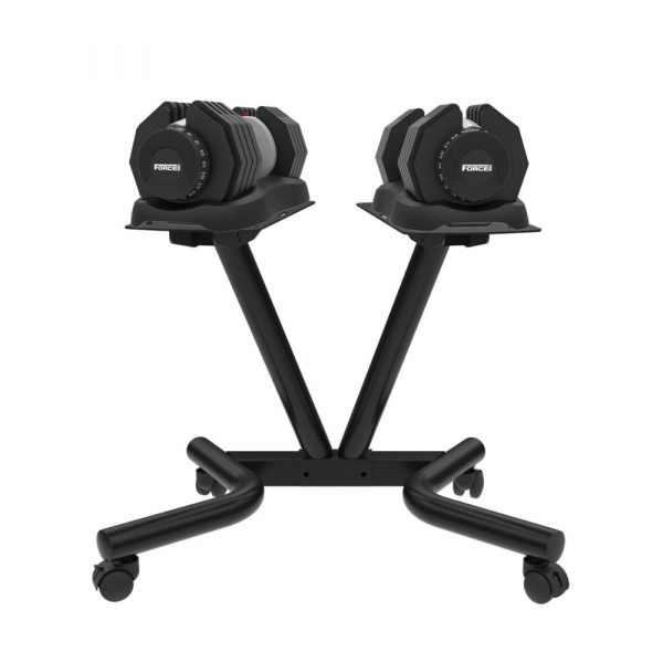 FORCE USA DialTech 25kg Adjustable Dumbbell Stand-1