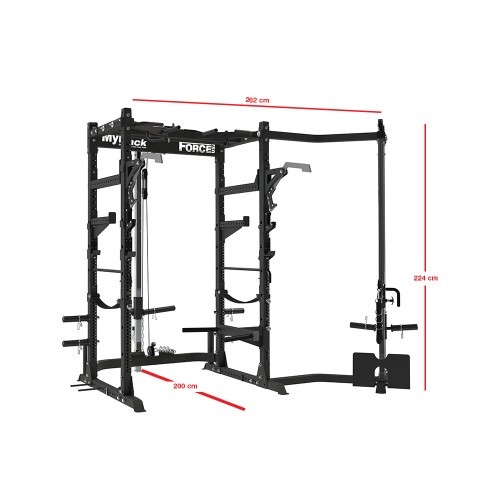 Force USA MyRack Ultimate Power Rack Package-19