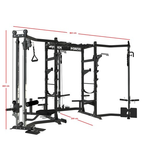 Force USA MyRack Ultimate Power Rack Package-22