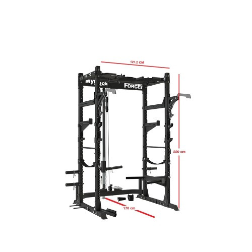Force USA MyRack Ultimate Power Rack Package-28
