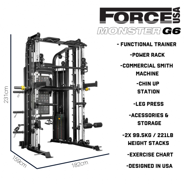 Force USA G6 All-In-One Functional Trainer-34