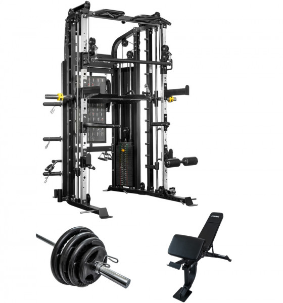 Force usa monster g smith machine home gym package