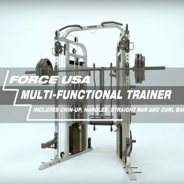 Force USA Functional Trainer Garage Gym Package-16