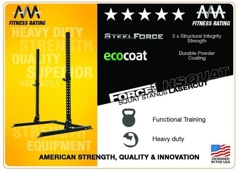 Force USA Laser Cut Squat Stands-13