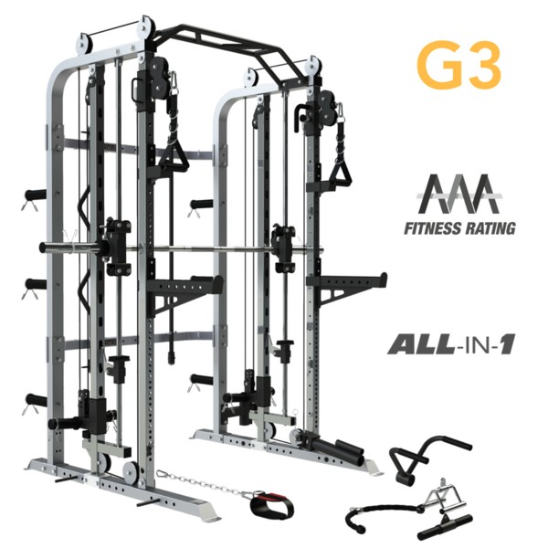 Force USA Monster G3 Smith Machine Home Gym + Functional Trainer + Power Rack-22