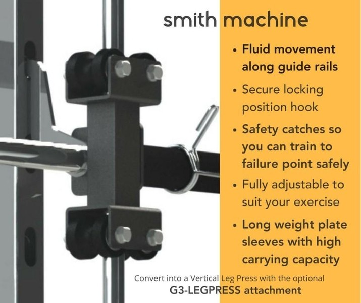 Force USA Monster G3 Smith Machine Home Gym + Functional Trainer + Power Rack-2