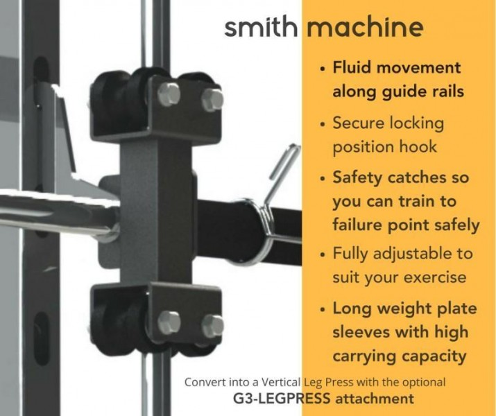 Force USA Monster G3 Smith Machine Home Gym + Functional Trainer + Power Rack-19
