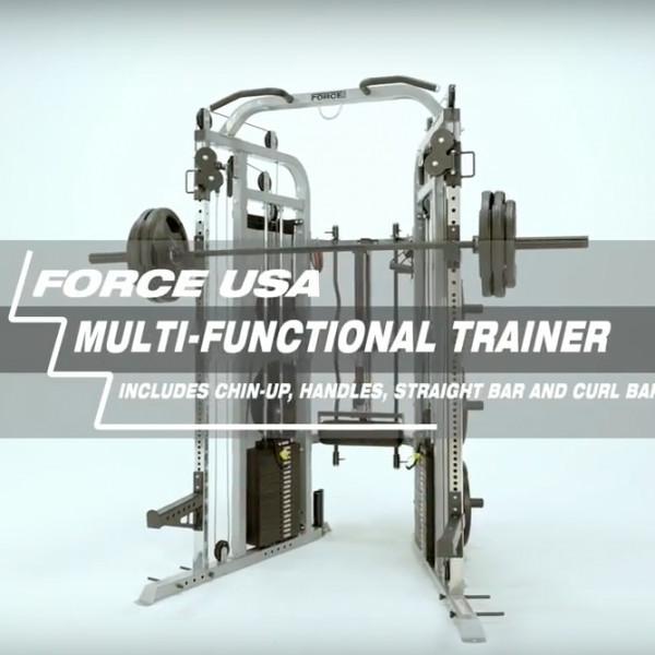 Force USA Multi Functional Trainer Select Package-1