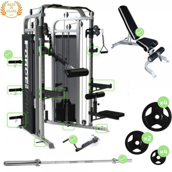 Force USA Multi Functional Trainer Ultimate Package-1
