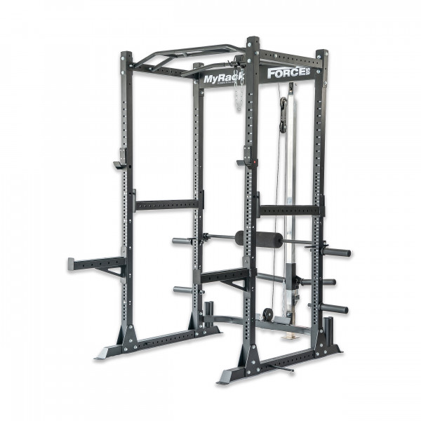 Force USA MyRack Garage Gym Power Rack with Lat/Low Pulley-2