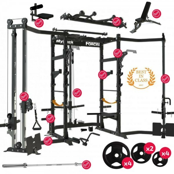 Force USA MyRack Ultimate Power Rack Package-40