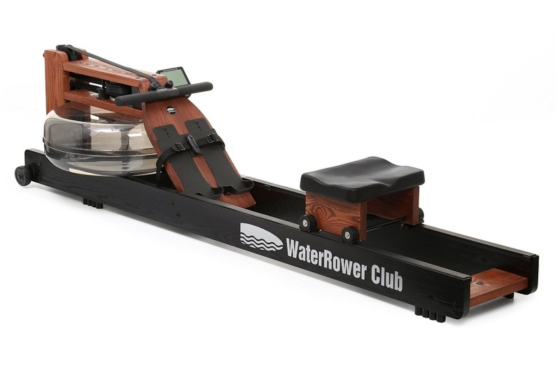 WaterRower Club in Ash finished in Black and Redwood and Danish oil-1