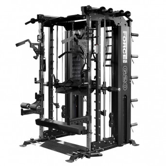 Force USA G20 All-In-One Functional Trainer & Weight Plate Package