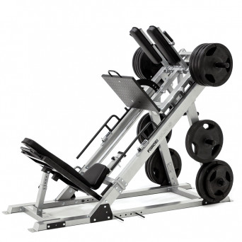 Force USA Ultimate Leg Press Hack Squat Combo & Weight Plate Package