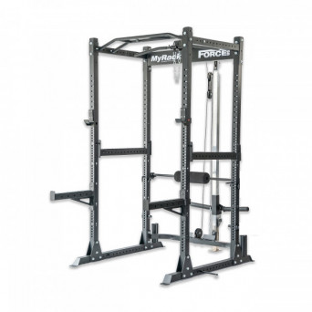 Force USA MyRack Garage Gym Power Rack with Lat/Low Pulley