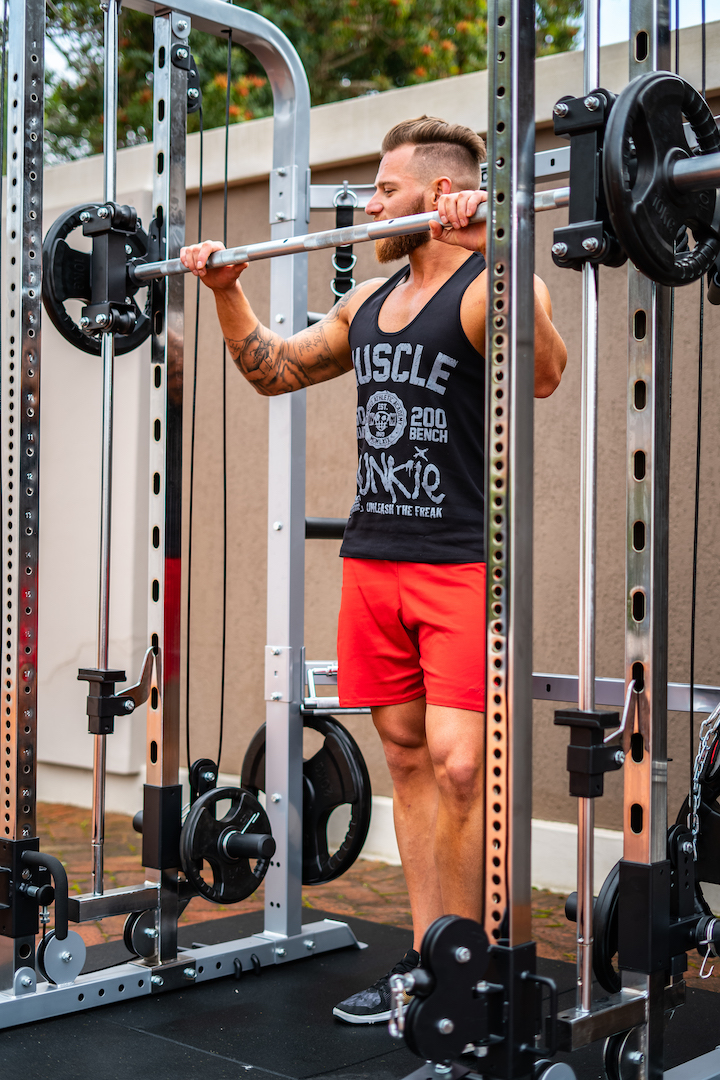 Force usa monster g smith machine garage gym package